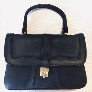 Alexander Vintage black leather Satchel